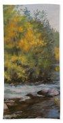 Umpqua Fall Beach Towel