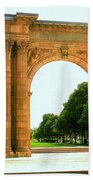 Union Station Arch Beach Towel
