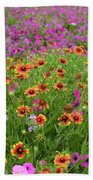 Up Close In The Garden 2 Beach Towel