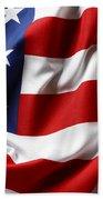 Usa Flag Beach Towel