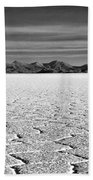 Uyuni Salt Falt Pattern Beach Towel