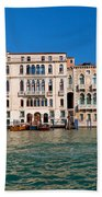 Venice Grand Canal View Italy Beach Towel