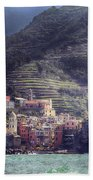 Vernazza Beach Towel by Joana Kruse