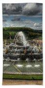 Versailles Fountain Beach Towel