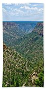 View From Sun Temple In Mesa Verde National Park-colorado  Beach Towel