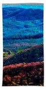 View From Table Rock Mountain Beach Towel