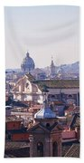 View Of Rome 2013 Beach Towel