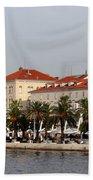 Views Of Split Croatia Beach Towel