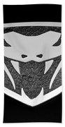 Viper Emblem Beach Towel