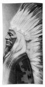 Washakie (1804-1900) Beach Towel