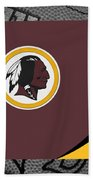 Washington Redskins Beach Towel