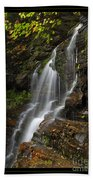 Water On The Mountain Beach Towel