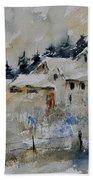Watercolor 419082 Beach Towel