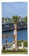 Waterfront Park St Augustine Florida Beach Towel