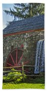 Wayside Inn Grist Mill Beach Towel