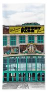 Welcome To The Asbury Park Boardwalk Beach Towel