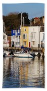 Weymouth In The Water Beach Towel