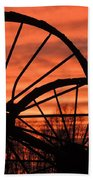 Wheel-n-axle Sunset.. Beach Sheet