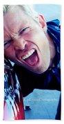 Billy Idol - Whiplash Smile Beach Towel