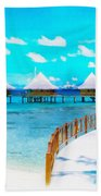 White Bay Beach Towel