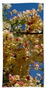 Wilhelmina Tenney Rainbow Shower Tree Beach Towel