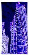 Willis Group And Lloyd's Of London  Beach Towel