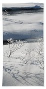 Winter Stream, Jasper National Park Beach Towel