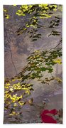 Wissahickon Autumn Beach Towel by Bill Cannon