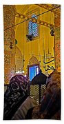 Women At Rumi's Mausoleum In Konya-turkey  Beach Towel