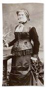 Women's Fashion, 1880s Beach Towel