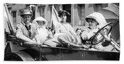 Women's Suffrage, 1913 Beach Towel