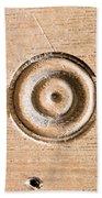 Wood Carving Beach Towel by Tom Gowanlock