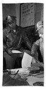 Wwii: Tuskegee Airmen, 1945 Beach Towel