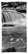 Yellow Creek Falls Great Smoky Mountains Beach Towel
