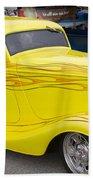 Yellow Submarine Beach Sheet