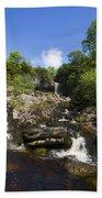 Yorkshire Dales Waterfall Beach Towel