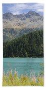 Alpine Lake Beach Towel