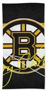 Boston Bruins Beach Towel