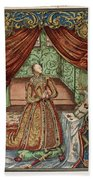 Elizabeth I (1533-1603) Beach Towel