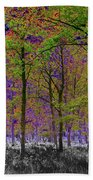 Forest Art Beach Towel