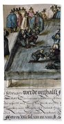 Mary, Queen Of Scots (1542-1587) Beach Towel