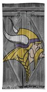 Minnesota Vikings Beach Towel by Joe Hamilton