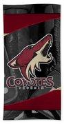 Phoenix Coyotes Beach Towel