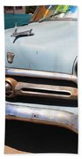 Route 66 Classic Car Beach Towel