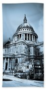 St Paul's Cathedral London Art Beach Towel