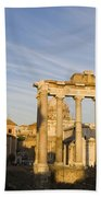 The Roman Forum Beach Towel
