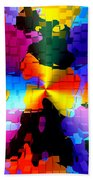 1000 Abstract Thought Beach Towel