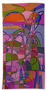 1008 Abstract Thought Beach Towel