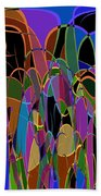 1009 Abstract Thought Beach Towel