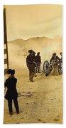 100th Anniversary Of Deactivation Ft. Lowell Tucson Arizona 1991 Toned 2008 Beach Towel